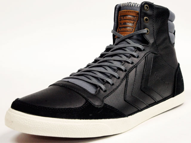 hummel  TEN STAR VINTAGE HIGH BLACK (HM63268-2672)