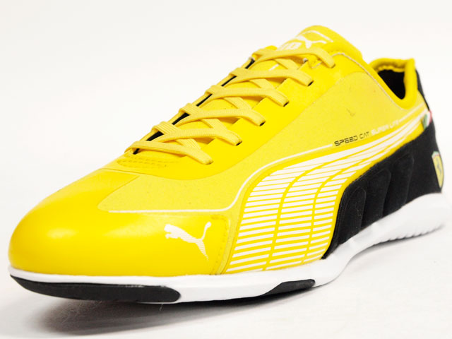 "Puma  SPEED CAT SUPER LITE SF ""LIMITED EDITION"" YEL/WHT/BLK (304377-02)"