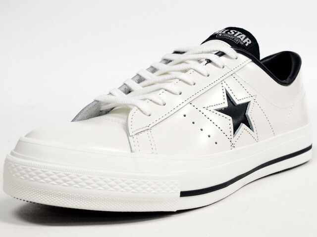 "CONVERSE  ONE STAR J ""made in JAPAN"" ""LIMITED EDITION for STAR SHOP"" WHT/BLK (32346510)"