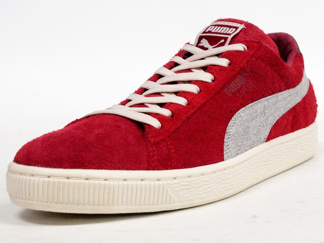 "【OUTLET】Puma  SUEDE RUGGED ""LIMITED EDITION"" RED/GRY (355366-03)"