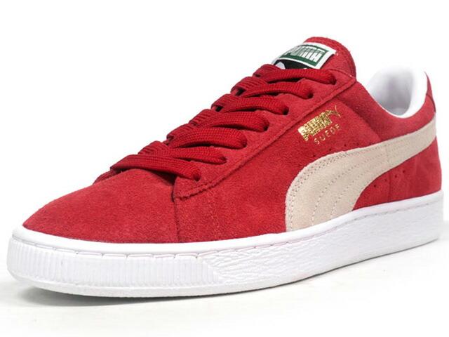 Puma  SUEDE CLASSIC + RED/WHT (352634-05)