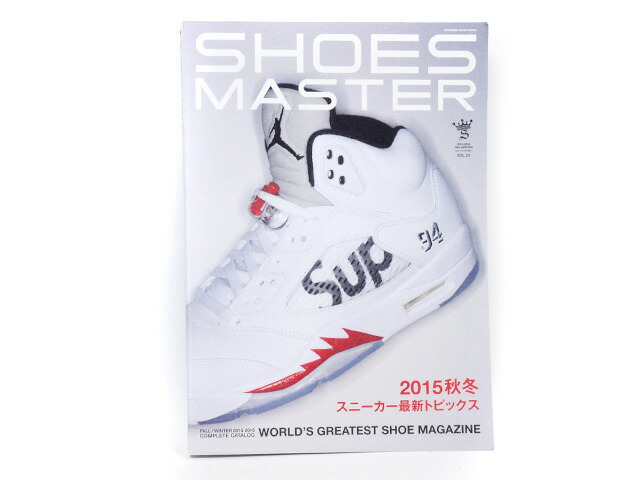 GOODS  SHOES MASTER vol.24 2015-2016 FALL/WINTER  (shoes-master-24)