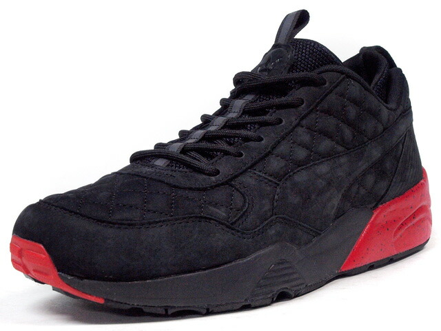 "Puma  R698 ""A Tale of Two Cities"" ""HIGHSNOBIETY x RONNIE FIEG"" ""LIMITED EDITION for CREAM"" BLK/RED/YEL (360323-01)"