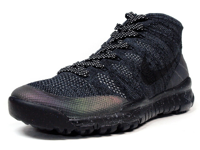 """NIKE  FLYKNIT TRAINER CHUKKA SNEAKERBOOT """"LIMITED EDITION for NSW FLYKNIT"""" BLK/BLK (805092-001)"""