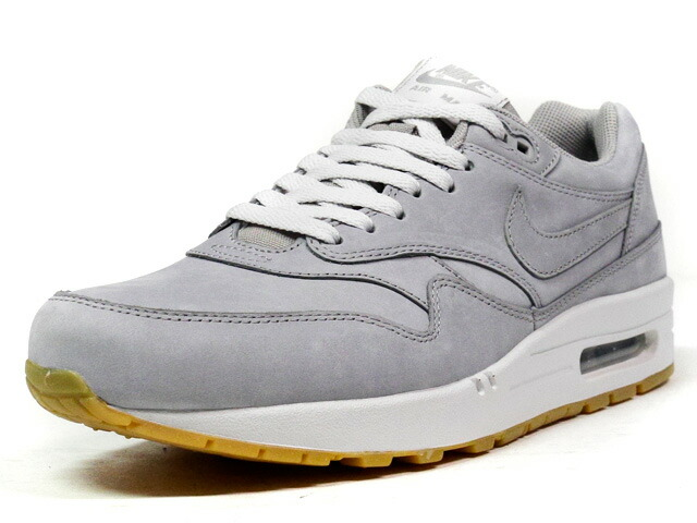 "NIKE  AIR MAX I LTR PREMIUM ""LIMITED EDITION for ICONS"" GRY/WHT/GUM (705282-005)"