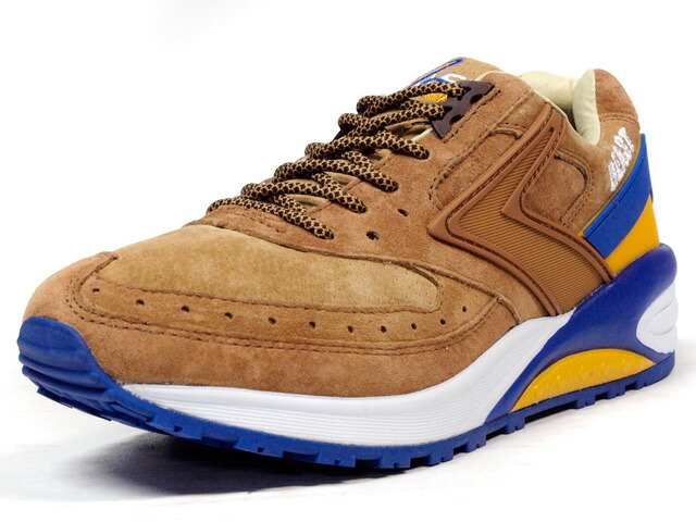 "BROOKS  BEAST 1 ""Enchantment Beast"" ""mita sneakers"" BRN/BLU/ORG (1102241D-280)"