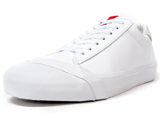 "LOSERS  SCHOOLER LO ""READY MADE"" WHT/RED (15SL07)"