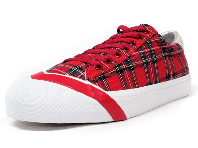 "LOSERS  SCHOOLER LO ""READY MADE"" RED/GRN/WHT (15SL09)"