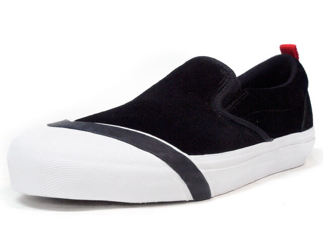 "LOSERS SCHOOLER SLIPON ""READY MADE""  BLK/WHT/RED (SSP02)"