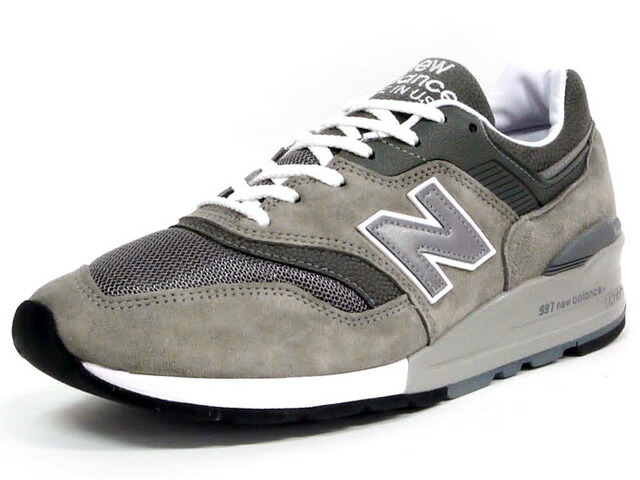 "new balance  M997 ""made in U.S.A."" ""LIMITED EDITION"" GY (M997 GY)"