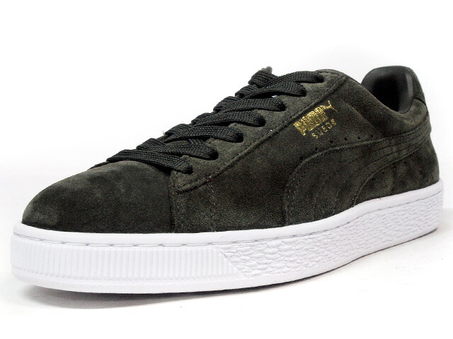 "Puma  SUEDE CLASSIC + ""LIMITED EDITION for D.C.4"" OLV/WHT (356568-65)"