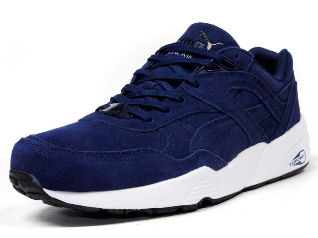 "Puma  R698 ALLOVER SUEDE ""LIMITED EDITION for D.C.4"" NVY/WHT (359392-03)"