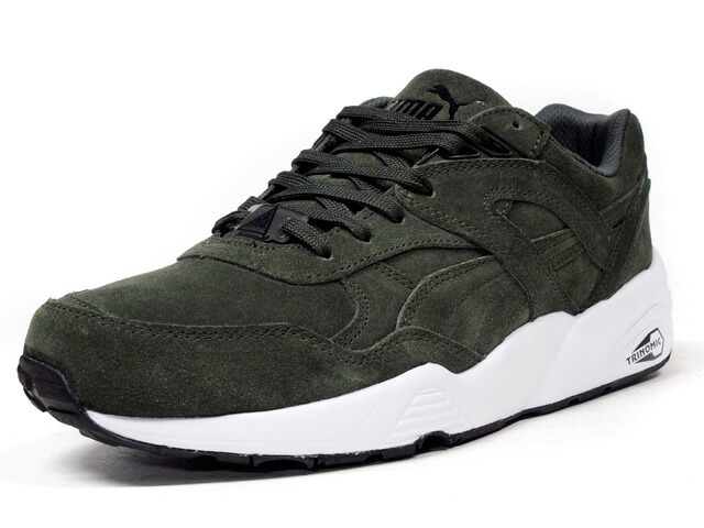 "Puma  R698 ALLOVER SUEDE ""LIMITED EDITION for D.C.4"" OLV/WHT (359392-04)"