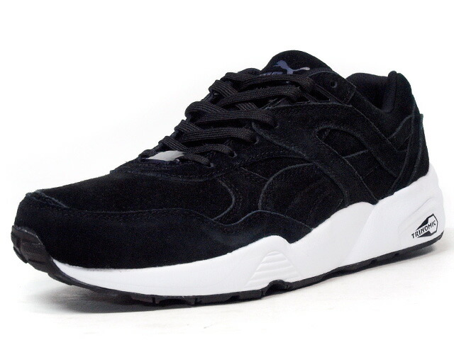 "Puma  R698 ALLOVER SUEDE ""LIMITED EDITION for D.C.4"" BLK/WHT (359392-05)"
