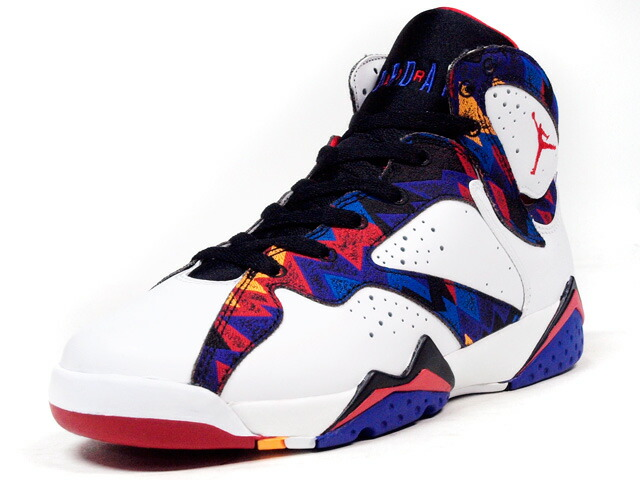"NIKE  AIR JORDAN VII RETRO (GS) ""SWEATER"" ""MICHAEL JORDAN"" ""LIMITED EDITION for JORDAN BRAND"" WHT/MULTI/BLK (304774-142)"