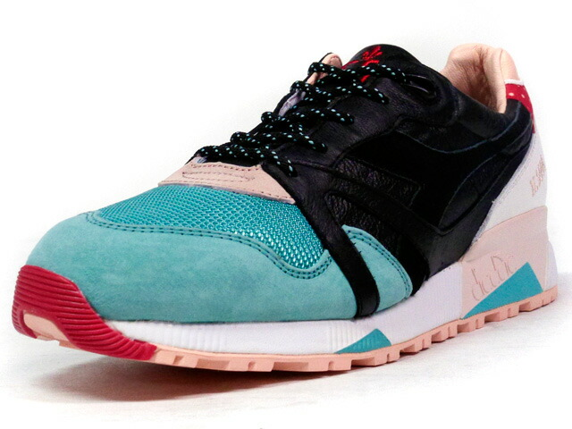 "diadora  N9000 ""made in ITALY"" ""Castellers"" ""LimitEDitions"" E.GRN/BLK/WHT/BGE/RED (161231-05646)"