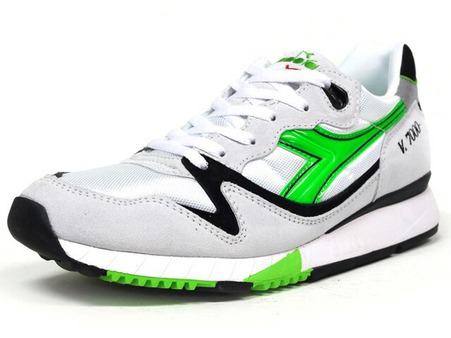 "diadora  V7000 OG ""made in ITALY"" ""Expresso Ristretto"" ""LIMITED EDITION"" WHT/GRN/BLK (161421-C3746)"