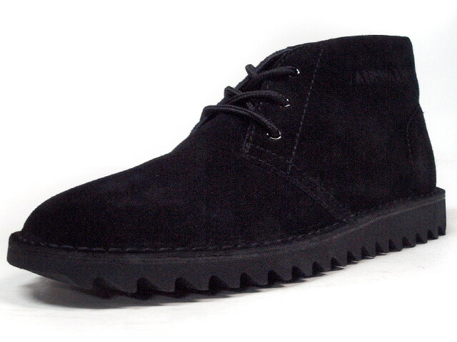 "AIRWALK  DESERT BOOTS 1991 ""JAPAN EXCLUSIVE"" BLK (AWK-DB-001)"