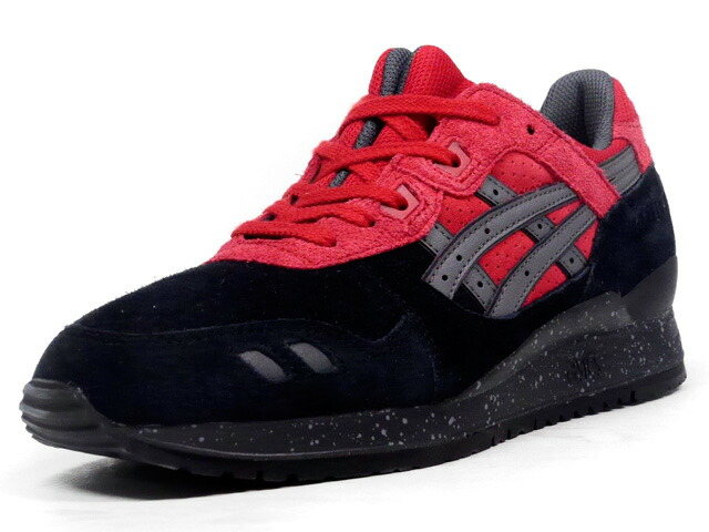 "ASICS Tiger  GEL-LYTE III ""CHRISTMAS PACK"" ""LIMITED EDITION"" BLK/RED/GRY (H60QK-9023)"