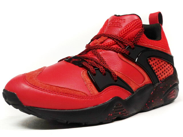 """Puma  BLAZE OF GLORY """"RISE"""" """"NEW YORK IS FOR LOVERS"""" """"LIMITED EDITION for CREAM"""" RED/BLK (360999-01)"""