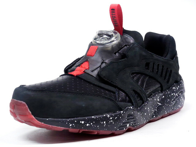 "Puma  DISC BLAZE ""TRAPSTAR LONDON"" ""TEASER COLLECTION"" ""LIMITED EDITION for CREAM"" BLK/RED (361651-01)"