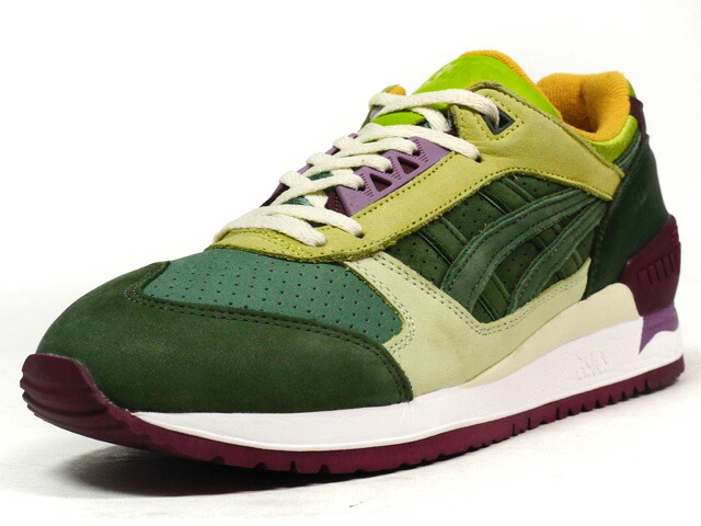 "ASICS Tiger  GEL-RESPECTOR ""Virgen Extra"" ""24 kilates"" GRN/L.GRN/PPL/WHT (H53UK-8686)"