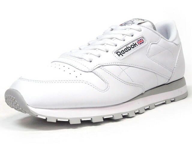 Reebok  CL LEATHER WHT/GRY (2214)
