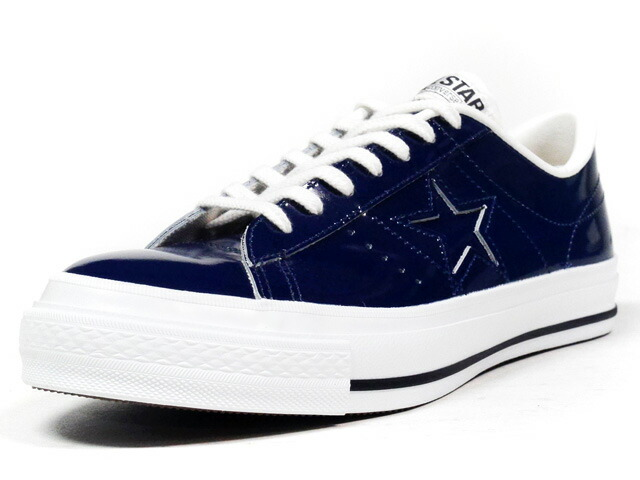 """CONVERSE  ONE STAR J PL """"made in JAPAN"""" """"LIMITED EDITION"""" D.NAVY (32346845)"""