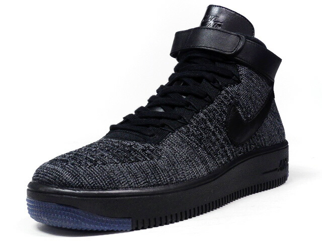 "NIKE  AIR FORCE I ULTRA FLYKNIT MID ""LIMITED EDITION for NSW FLYKNIT"" GRY/BLK (817420-001)"