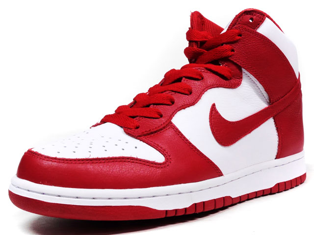 "NIKE  DUNK RETRO QS ""UNIVERSITY OF ST.JOHN'S"" ""LIMITED EDITION for NONFUTURE"" RED/WHT (850477-102)"