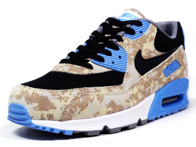 "NIKE  AIR MAX 90 PREMIUM ""LIMITED EDITION for ICONS"" BGE/CAMO/BLK/SAX (700155-200)"