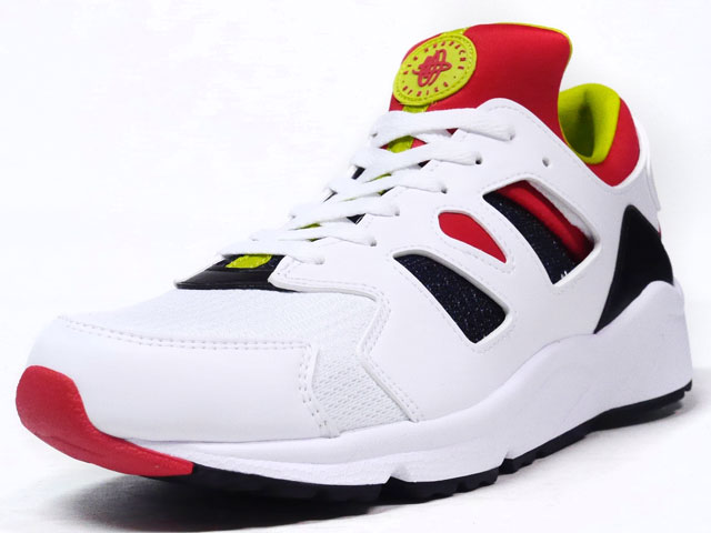 "NIKE  AIR HUARACHE INTERNATIONAL ""LIMITED EDITION for NONFUTURE"" WHT/RED/YEL/BLK (819480-106)"