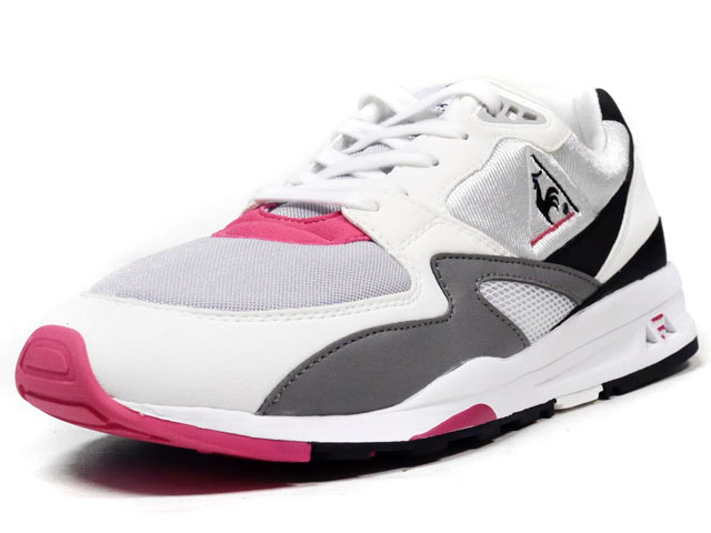 "le coq sportif  LCS-R800 OG ""DYNACTIF SYSTEM 25th ANNIVERSARY"" ""LIMITED EDITION"" WHT/GRY/BLK/PINK (1610692)"