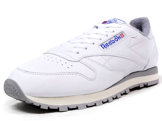 Reebok  CL LEATHER R12 WHT/GRY/NVY (M42845)
