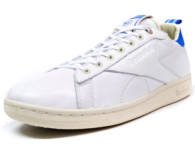 "Reebok  NPC UK CNL ""HIGHS AND LOWS"" ""YEAR OF COURT"" ""LIMITED EDITION for CERTIFIED NETWORK"" WHT/SAX (AR0251)"