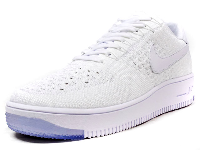 "NIKE  AIR FORCE I ULTRA FLYKNIT LOW ""LIMITED EDITION for NSW FLYKNIT"" WHT/WHT (817419-100)"