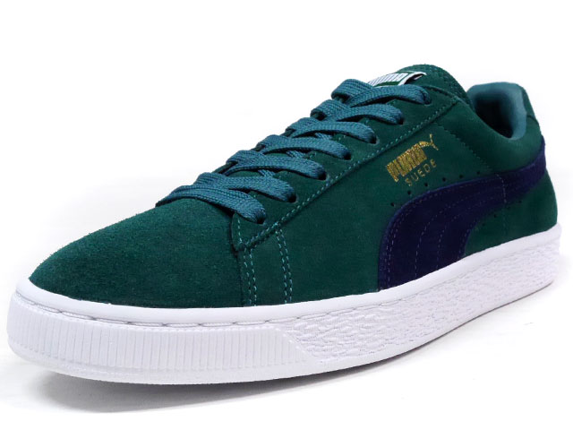 "Puma  SUEDE CLASSIC + ""LIMITED EDITION for D.C.4"" GRN/NVY (356568-77)"