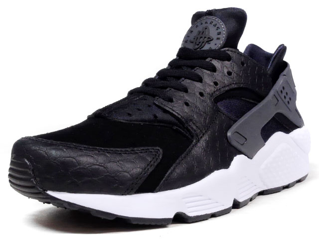 "NIKE  AIR HUARACHE RUN PREMIUM ""LIMITED EDITION for NSW"" BLK/WHT (704830-001)"