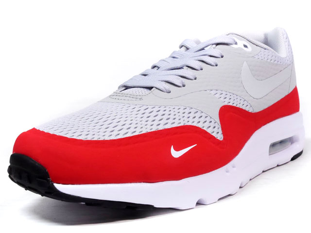 "NIKE  AIR MAX I ULTRA ESSENTIAL ""LIMITED EDITION for ICONS"" GRY/RED (819476-006)"