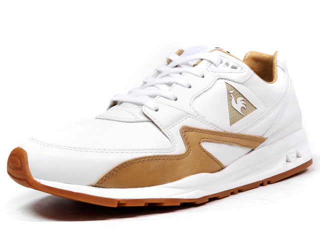 "le coq sportif  LCS-R800 MIF ""made in FRANCE"" ""LIMITED EDITION for mita sneakers / KICKS LAB."" WHT/BGE (1611746)"