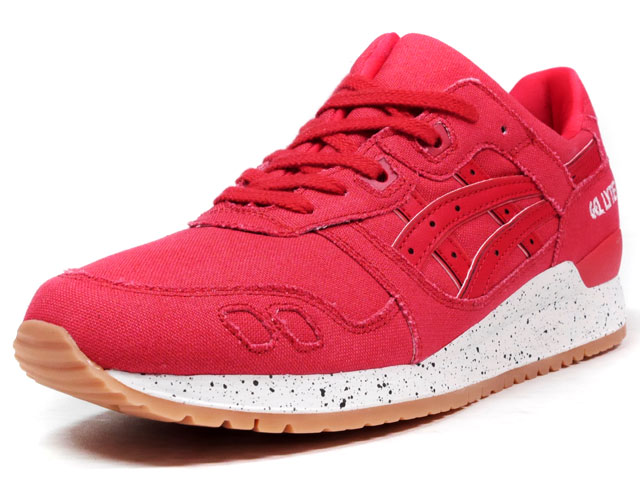 """ASICS Tiger  GEL-LYTE III """"OXIDIZED PACK"""" """"LIMITED EDITION"""" RED/WHT/GUM (TQ643N-2323)"""