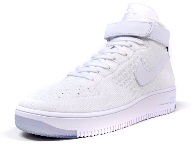 "NIKE  AIR FORCE I ULTRA FLYKNIT MID ""LIMITED EDITION for NSW FLYKNIT"" WHT/WHT (817420-100)"
