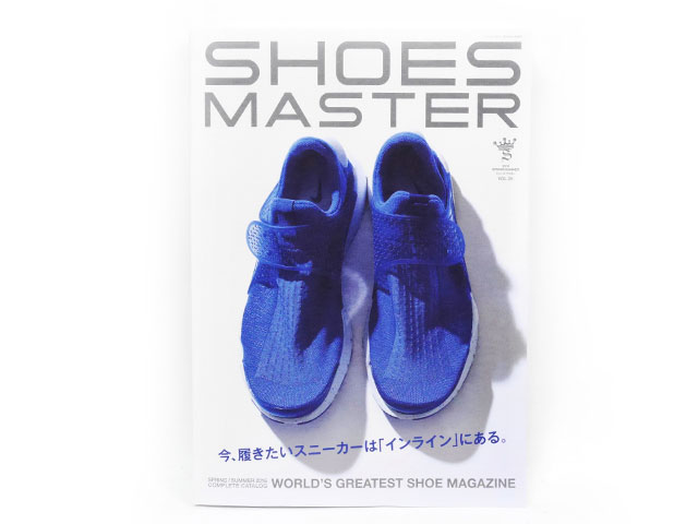 GOODS  SHOES MASTER vol.25 2016 SPRING/SUMMER  (shoes-master-25)