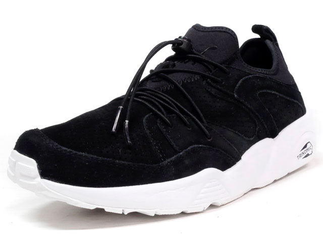 """Puma BLAZE OF GLORY SOFT """"LIMITED EDITION for D.C.5""""  BLK/WHT (360101-02)"""