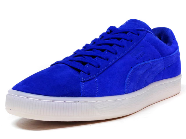 """Puma SUEDE CLASSIC COLORED """"LIMITED EDITION for D.C.4""""  BLU/WHT (360850-06)"""