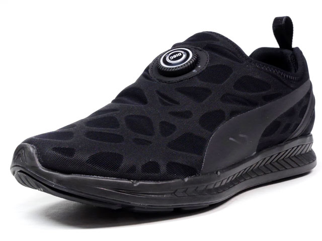 """Puma  DISC SLEEVE IGNITE STREET FORM """"LIMITED EDITION for D.C.5"""" BLK/BLK (360946-01)"""