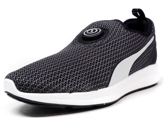 """Puma  DISC SLEEVE IGNITE KNIT """"LIMITED EDITION for D.C.5"""" BLK/WHT (360724-02)"""