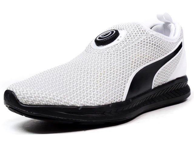 """Puma  DISC SLEEVE IGNITE KNIT """"LIMITED EDITION for D.C.5"""" WHT/BLK (360724-03)"""