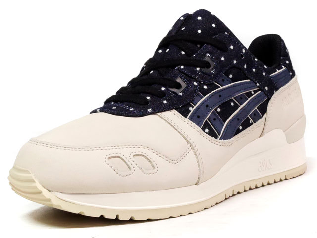 """ASICS Tiger GEL-LYTE III """"JAPANESE TEXTILE PACK"""" """"LIMITED EDITION""""  NVY/O.WHT (TQ625L-5050)"""