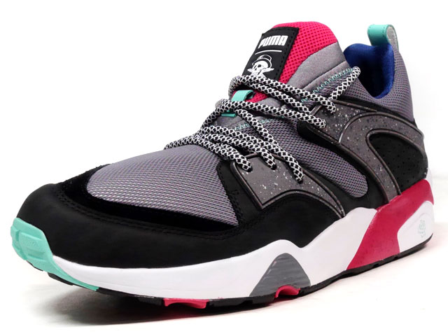 "Puma BLAZE OF GLORY ""CROSSOVER"" ""THE VELVET TWIN PACK"" ""LIMITED EDITION for CREAM""  GRY/BLK/RED/E.GRN/NVY (361445-01)"